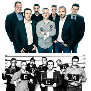 Usual Suspects Corporate Studio Shoot with Tebicom