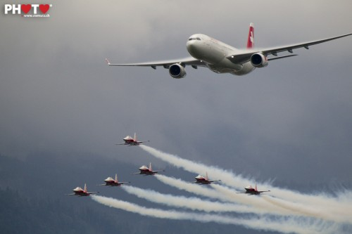 100 Years of Swiss Aviation, Emmen