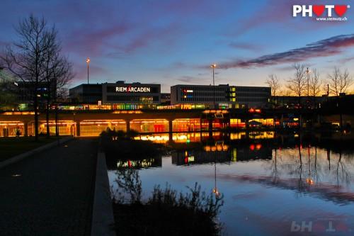 Sunset @ Messe München / Riem Arcaden, 15.01.2011 ... by stemutz