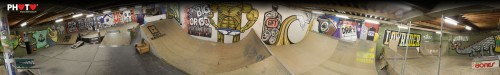 360° Panorama of 3B Skatepark, Fribourg ... RIP !!