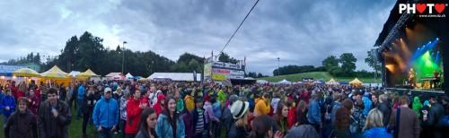Live Panorama 1 ... Gustav & Black Poets @ Schmittner Open-Air, 16.06.2011