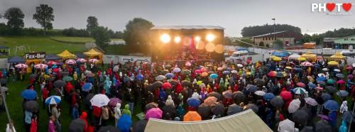 Live Panorama 2 ... Gustav & Black Poets @ Schmittner Open-Air, 16.06.2011