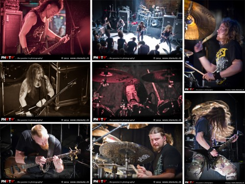 Death-Metal riffs, drums and flying hair ... Essence, Krisiun, VADER @ Ebullition, 19.06.2011 by stemutz
