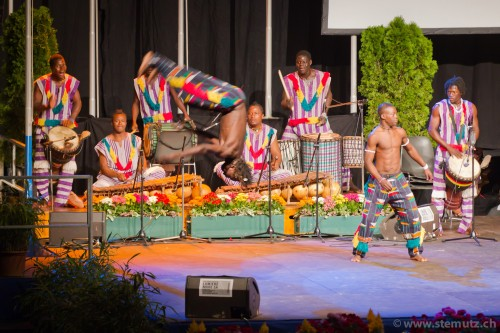 Burkina Faso in action ... Spectacle d'ouverture @ RFI 2011, Fribourg, 16.08.2011