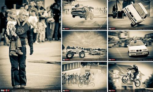 Mario Cortez and grandson ... Fun & Action Stuntshow @ Payerne, Switzerland, 24.07.2011