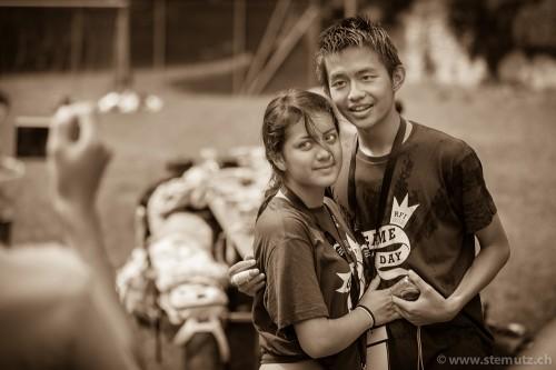 Teeny Love between Ecuador and Taiwan ... Game Day @ RFI 2012, 16.08.2012