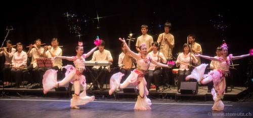 Taiwan Folk Music Ensemble @ RFI 2012, Fribourg, Switzerland, 17.08.2012