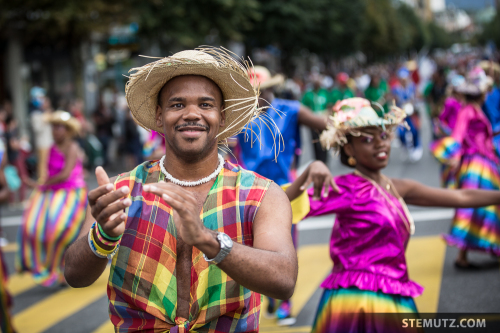 La Martinique ... RFI 2014 Opening Parade, Fribourg, 19.08.2014