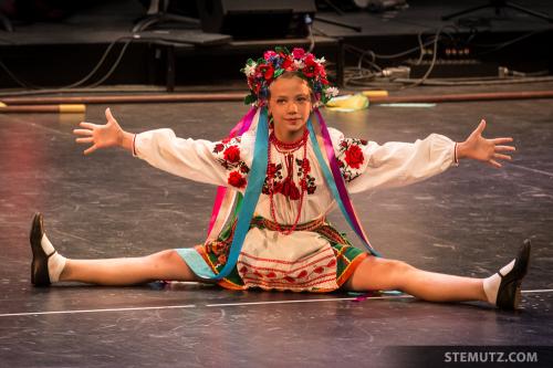 Ukraine Kids ... RFI 2014 Gala 1, Equilibre, Fribourg, 21.08.2014