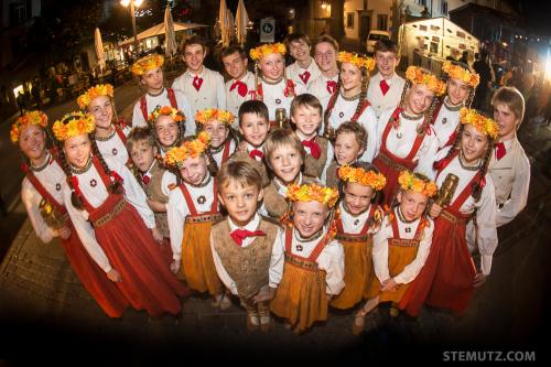 Latvia Kids ... RFI 2014 Village des Nations, Place Python, Fribourg, 23.08.2014