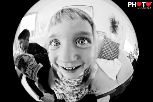 Melissa Fish-eye Portrait (Canon EF 8-15 mm f/4 L Fisheye)