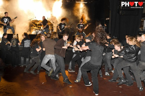 Death-Metal moshpit... Aborted (BE) @ Fri-Son, Fribourg, Switzerland, 16.12.2011