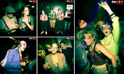 Bad clothing style and nerd glasses ... Nouvel an du ringard @ Nouveau Monde, 31.12.2012