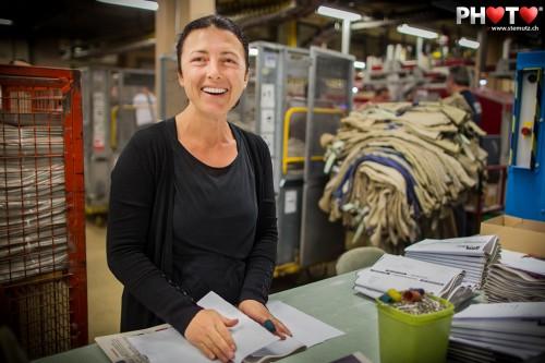 Travailler en souriant ... Photo Club Session @ Imprimerie St-Paul, 02.04.2012