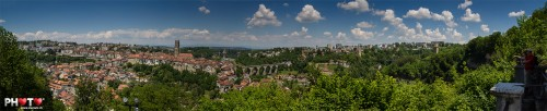 La Lorette: Probably the most beautiful panorama view on Fribourg city...