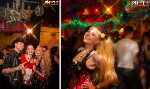 Nico, Laetitia, Valentine @ Miss Ink 2012, Elvis et Moi, Fribourg, 15.06.2012