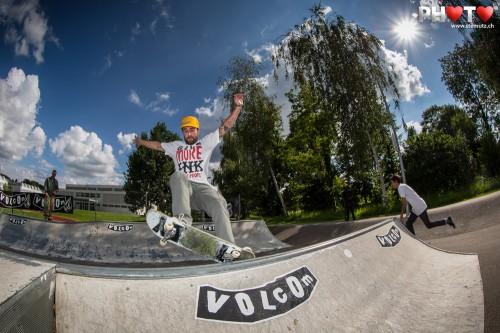 Volcom Sausage Day @ Skatepark Murten, Switzerland, 21.07.2012