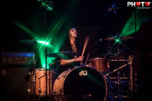 Batteur Junior Rodriguez ... Dick Rivers (F) @ Jazz Parade, Fribourg ...