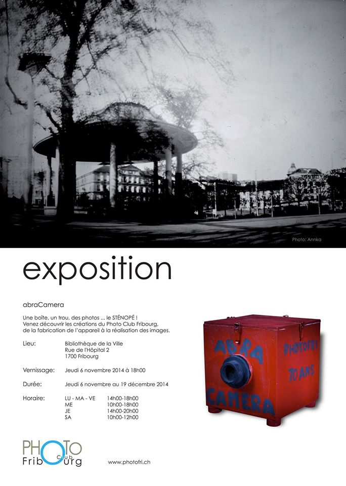 Exposition Collective, Photo Club Fribourg: abraCamera!