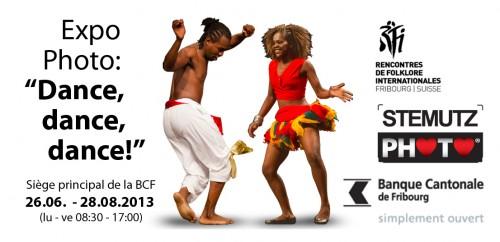 "Exposition Photo: ""Dance, dance, dance!"" 26.06. – 28.08.2013 @ BCF"