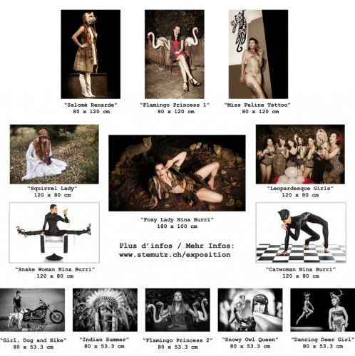 Of Girls and Animals:13 Fineart Posters in Sizes 0.8x0.5m, 1.2x0.8m and 1.8x1m ...