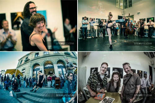 "Vernissage Expo Photo ""13x2"" @ Ancienne Gare, Fribourg, Suisse, 24.04.2013"