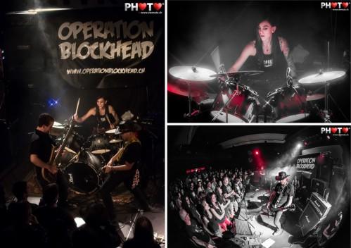 CD Vernissage ... Operation Blockhead @ Ebullition, Bulle, 13.10.2012