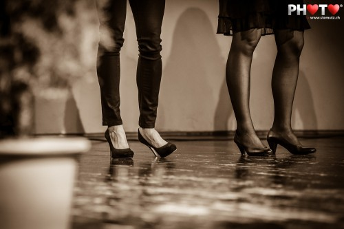 L'attente: Michelle Cueni & Nicole Schaller @ Mérite sportif fribourgeois 2012