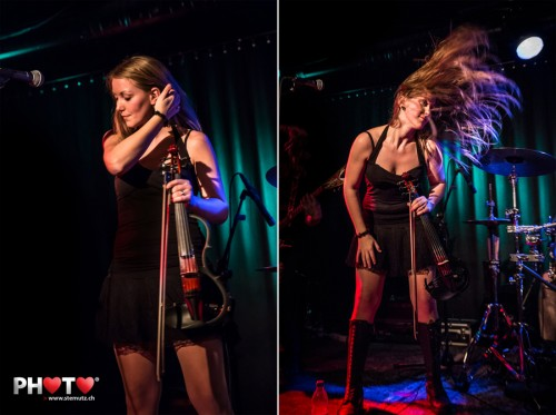 The calm and the wild side ... Singer/Violin Iris Keller of Hedera @ Bad Bonn