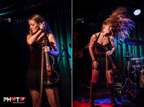 The calm and the wild side ... Singer/Violin Iris Keller of Hedera @ Bad Bonn
