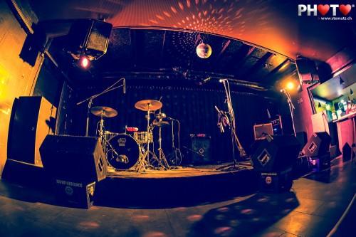 The Stage is ready to be rocked @ Bad Bonn, Düdingen, Switzerland