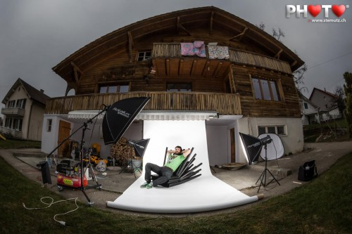 Outdoor Photo Shoot with Furniture Designer Boris Dennler (Boris Lab) !