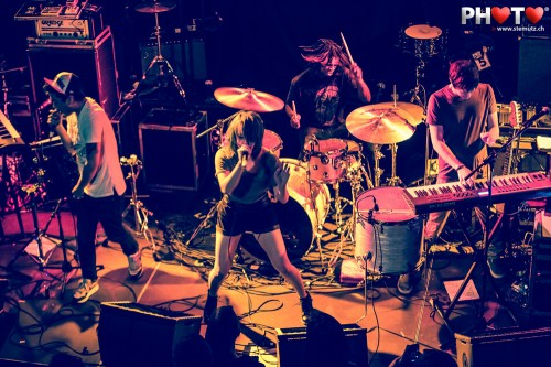 Excellent Band ... Itch (UK) @ Ebullition, Bulle, Switzerland, 08.02.2013