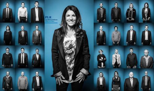 PLR Villars-sur-Glâne Campagne 2016 Shoot @ Chambre Noire, blueFactory, Fribourg
