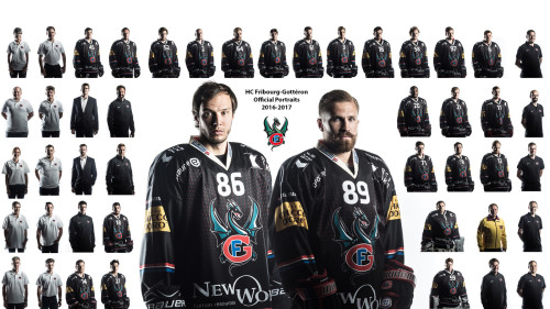HC Fribourg-Gottéron Photos Portraits Officielles 2016-2017 by STEMUTZ