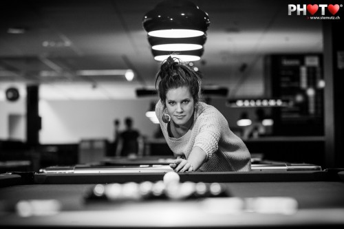 ... and pool billard is for girls too! Fribowling Shoot, 06.03.2013