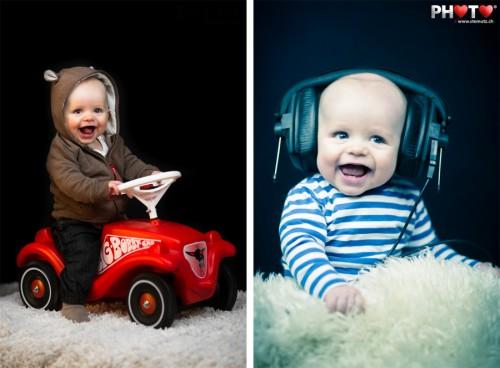 Bobby Car / DJ Headphones ... Noah Baby Shoot @ Wednesday's Photo Sessions