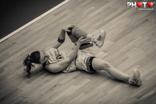 ELFIC Stretching ... Photofri Session @ Benetton Basket Fribourg Olympic, 27.03.2013