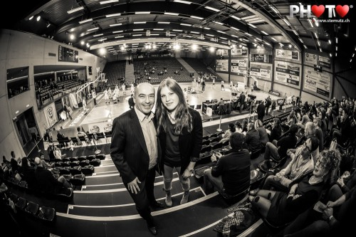 Former President ... Photofri Session @ Benetton Basket Fribourg Olympic, 27.03.2013