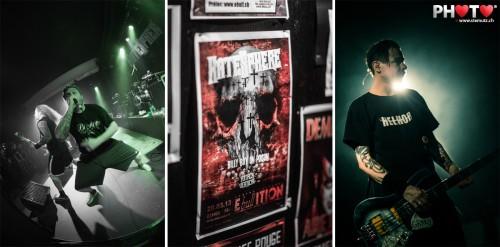 Danish Metal !!! HATESPHERE (DK) @ Ebullition, Bulle, Switzerland, 29.03.2013