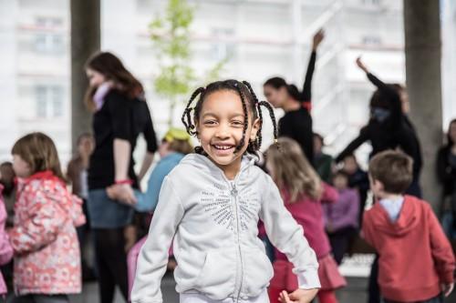 Happy Kids at Mélanie's Show... Fête de la danse 2013 @ Place Georges Python