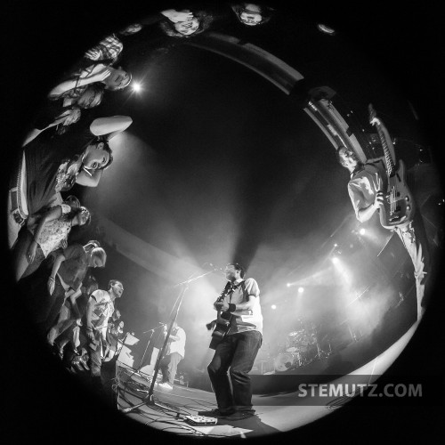 Circle View from Stage ... Frank Turner (UK) @ Ebullition, Bulle, Switzerland