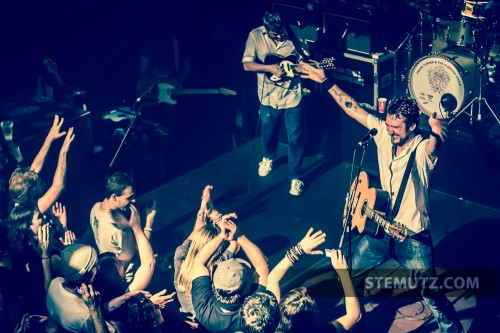 Huge success ... Frank Turner (UK) @ Ebullition, Bulle, Switzerland, 01.05.2013