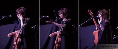 The Goodbye-Kiss ... Nicole Atkins (US) @ Fri-Son, Fribourg, Switzerland, 15.04.2013