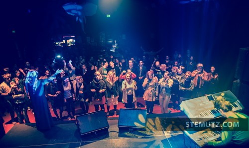 Stage View ... Omar Souleyman (SY) @ Fri-Son, Fribourg, Switzerland, 07.05.2013