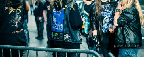 Metal Fans .... The Burden Remains / Megadeth (US) @ Fri-Son, Fribourg, Switzerland