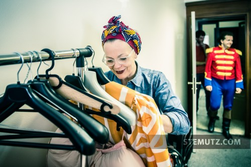 La costumière Anne Marbacher - Opéra Louise MAVRA @ blueFactory, Fribourg