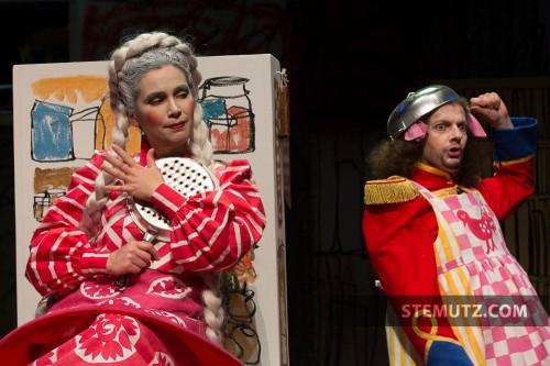 Marasha et le Hussard ... Opéra Louise MAVRA @ blueFactory, Fribourg