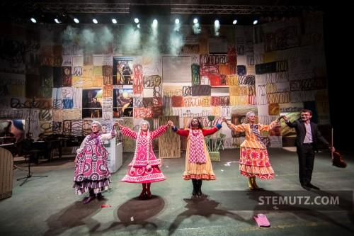 Fin de la générale ...  Opéra Louise MAVRA @ blueFactory, Fribourg, Suisse