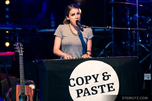 New Album Copy & Paste ... Lina Button @ Jazz Parade, Fribourg, Suisse, 13.07.2013